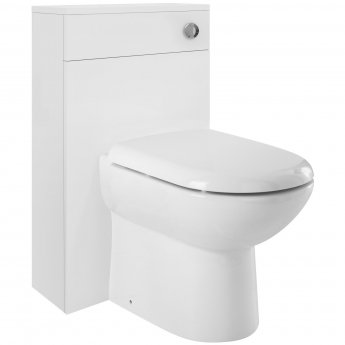 Nuie Design BTW Toilet with WC Unit and Cistern - Soft Close Seat