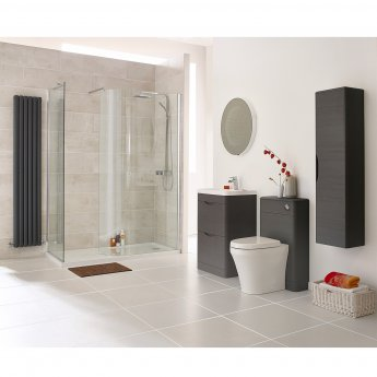 Premier Eclipse Floor Standing Vanity Unit with Basin 1 - 800mm Wide