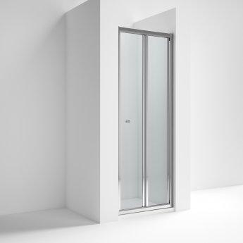 Nuie Ella Bi-Fold Shower Door 800mm Wide - 5mm Glass