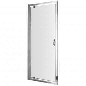 Nuie Ella Pivot Shower Enclosure 760mm x 760mm with Shower Tray - 5mm Glass