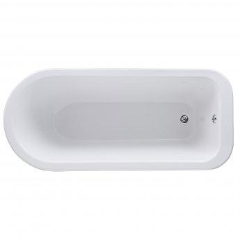 Nuie Freestanding Bath, 1700mm x 750mm, Pride Leg Set
