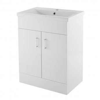 Premier Freya Complete Furniture Suite with 600mm Vanity Unit and 1700mm Single Ended Bath