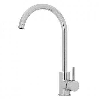 Premier Kitchen Sink Mixer Tap Single Lever Handle - Chrome