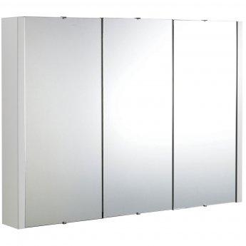 Premier Lux Bathroom Cabinet   NVM116   900mm   White