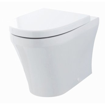 Premier Marlow Back to Wall Toilet WC 555mm Projection - Excluding Seat