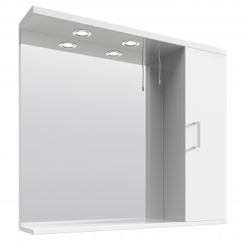 Nuie Mayford Complementary Bathroom Cabinet 850mm W White