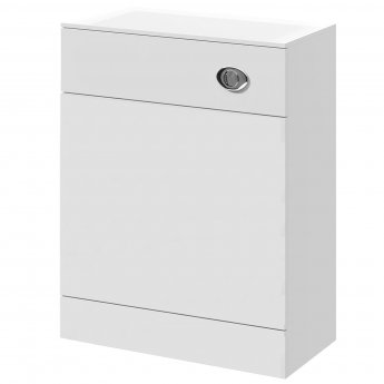 Nuie Mayford Back to Wall WC Toilet Unit 500mm Wide x 300mm Deep - Gloss White