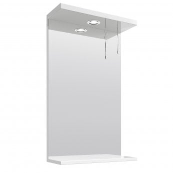 Premier Mayford Complementary Bathroom Mirror 450mm W White