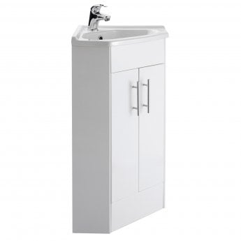 Premier Mayford Corner Vanity Unit with Basin 550mm Wide - 1 Tap Hole