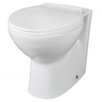 Premier Melbourne Back to Wall Toilet 355mm Wide - Excluding Seat