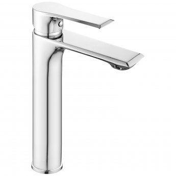 Nuie Limit Tall Basin Mixer Tap - Chrome