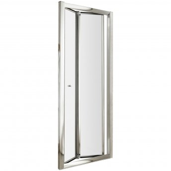 Nuie Pacific Bi-Fold Shower Door 1200mm Wide - 4mm Glass