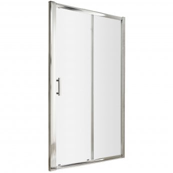 Nuie Pacific Sliding Shower Door 1700mm Wide - 6mm Glass