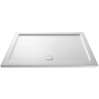Nuie Pearlstone Rectangular Shower Tray 1700mm x 900mm - White