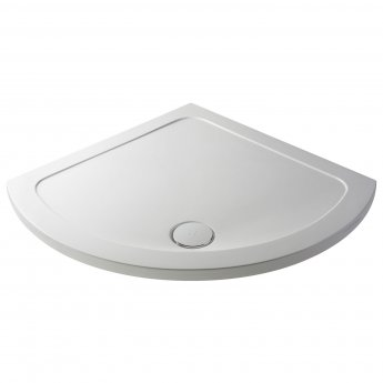 Nuie Pearlstone Single Entry Quadrant Shower Tray 850mm x 850mm