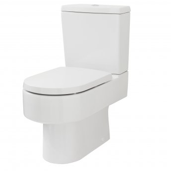 Premier Provost Close Coupled Toilet WC with Push Button Cistern - Excluding Seat