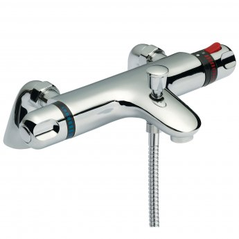 Premier Reef Thermostatic Bath Shower Mixer Tap - Chrome