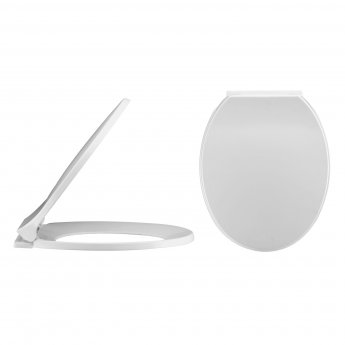 Nuie Melbourne Wall Hung Toilet 540mm Projection - Soft Close Seat