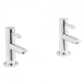 Premier Series 2 Basin Taps Pair - Chrome