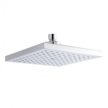 Premier Square Fixed Shower Head, 200mm x 200mm, Chrome