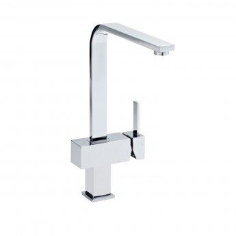Premier Square Kitchen Sink Mixer Tap Single Handle - Chrome
