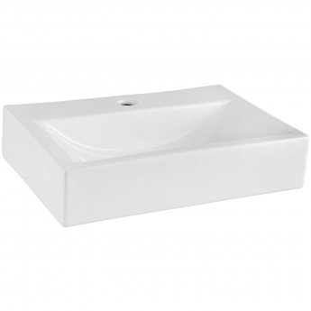 Nuie Vessels Rectangular Countertop Basin 450mm Wide - 1 Tap Hole
