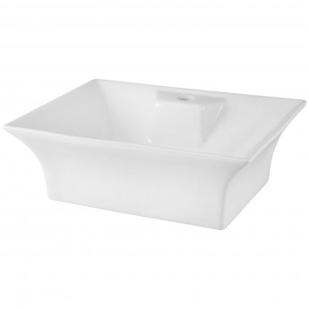 Nuie Vessels Sit-On Countertop Basin 480mm Wide - 1 Tap Hole