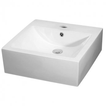Premier Vessels Sit-On Countertop Basin 470mm Wide - 1 Tap Hole