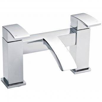 Nuie Vibe Bath Filler Tap Pillar Mounted - Chrome