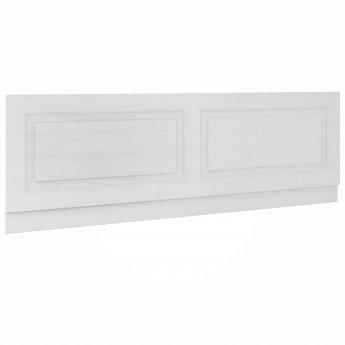 Nuie York Bath Front Panel 560mm H x 1700mm W - Porcelain White Ash