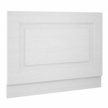 Premier York Bath End Panel 560mm H x 700mm W - Porcelain White Ash