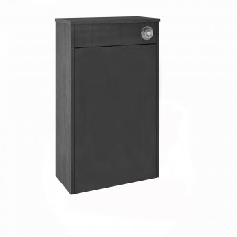 Nuie York Back to Wall WC Toilet Unit 500mm Wide - Royal Grey