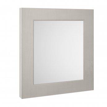 Premier York Bathroom Mirror 800mm H x 600mm W - Stone Grey