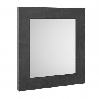 Premier York Bathroom Mirror 800mm H x 600mm W - Royal Grey