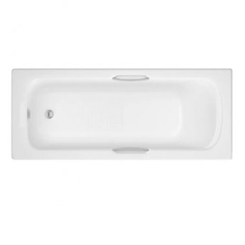 Prestige Alpha Gripped Rectangular Bath 1675mm x 700mm Single Ended