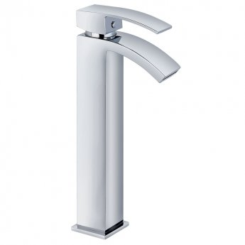 Prestige Antigua Tall Mono Basin Mixer Tap Single Handle Chrome