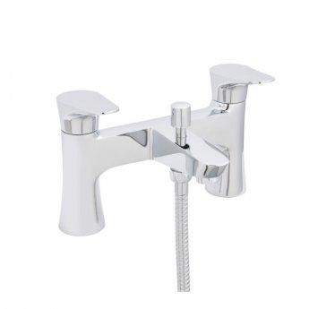 Prestige Arish Bath Shower Mixer Tap Chrome