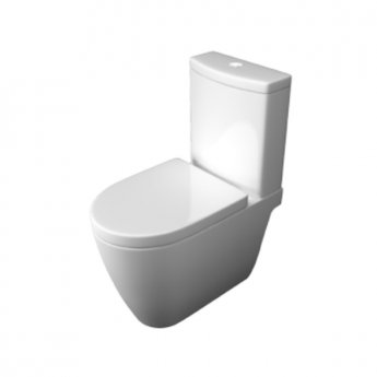 Prestige Athens Close Coupled Toilet WC with Cistern - Soft Close Seat