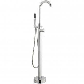 Prestige Barbuda Freestanding Bath Shower Mixer with Shower Kit Chrome