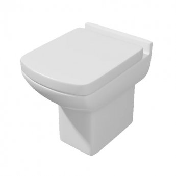 Prestige Cuba Back to Wall Toilet - Soft Close Seat and Cover