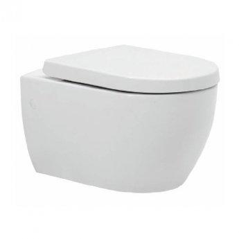 Prestige Metro Wall Hung Toilet WC - Soft Close Seat
