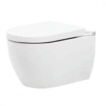 Prestige Dawn Wall Hung Toilet WC - Soft Close Seat
