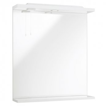 Prestige Evolve Bathroom Mirror with Lights 650mm W White
