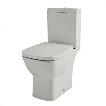 Prestige Evoque Close Coupled Toilet with Push Button Cistern - Soft Close Seat