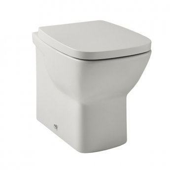 Prestige Evoque Back to Wall Toilet Pan - Soft Close Seat