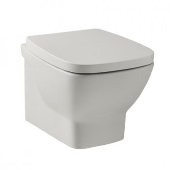 Prestige Evoque Wall Hung Toilet Pan - Soft Close Seat