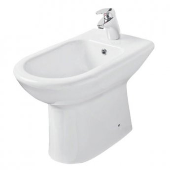 Prestige Felicite Bidet 357mm Wide 1 Tap Hole