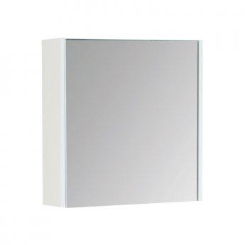 Prestige Fiji Mirror Cabinet 450mm Wide White