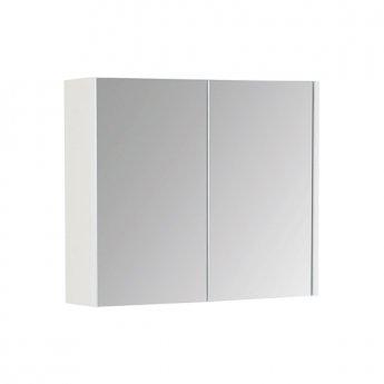 Prestige Fiji Mirror Cabinet 500mm Wide White