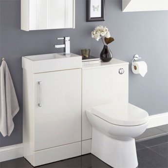 Prestige Fiji WC Unit with Concealed Cistern 500mm Wide White